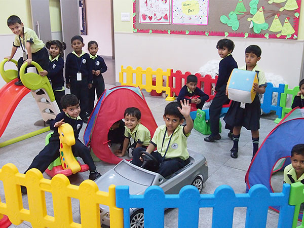 Kindergarten Activity Room