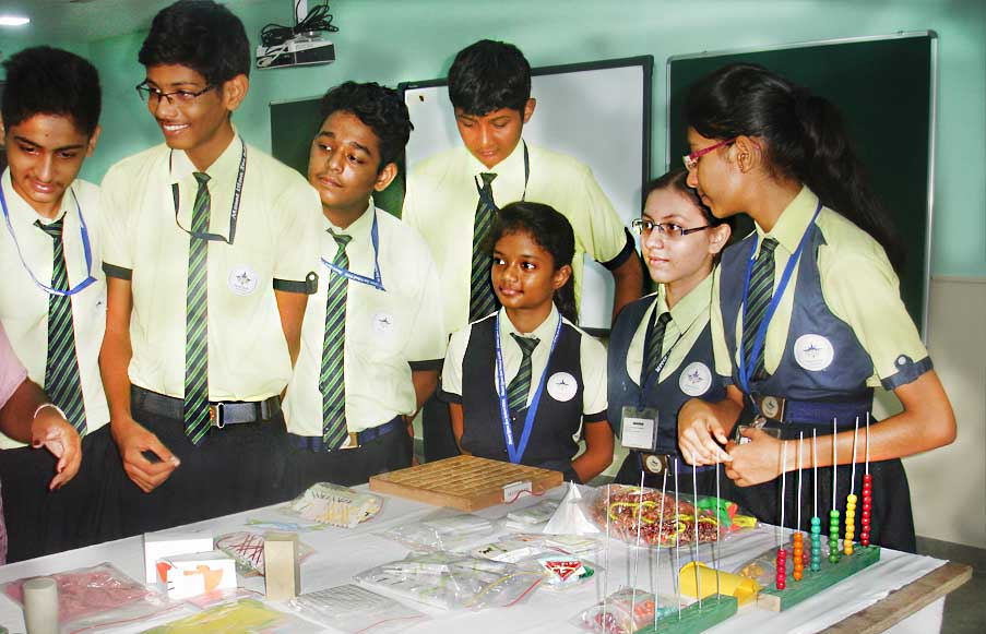 Students at Mathematics Lab